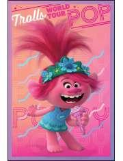Trolle World Tour Księżniczka Poppy - plakat