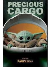 Star Wars The Mandalorian Yoda - plakat