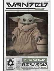 Star Wars The Mandalorian Yoda Wanted - plakat