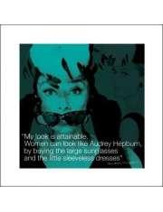 Audrey Hepburn I.Quote - plakat premium