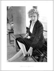 Marilyn Monroe Buty - plakat premium