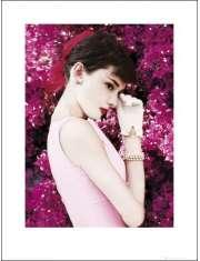 Audrey Hepburn Kwiaty - plakat premium