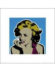 Marilyn Monroe Popart - plakat premium
