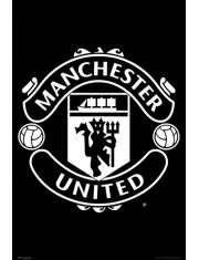 Manchester United Godło Klubu - plakat