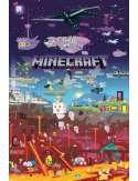 Minecraft World Beyond - plakat
