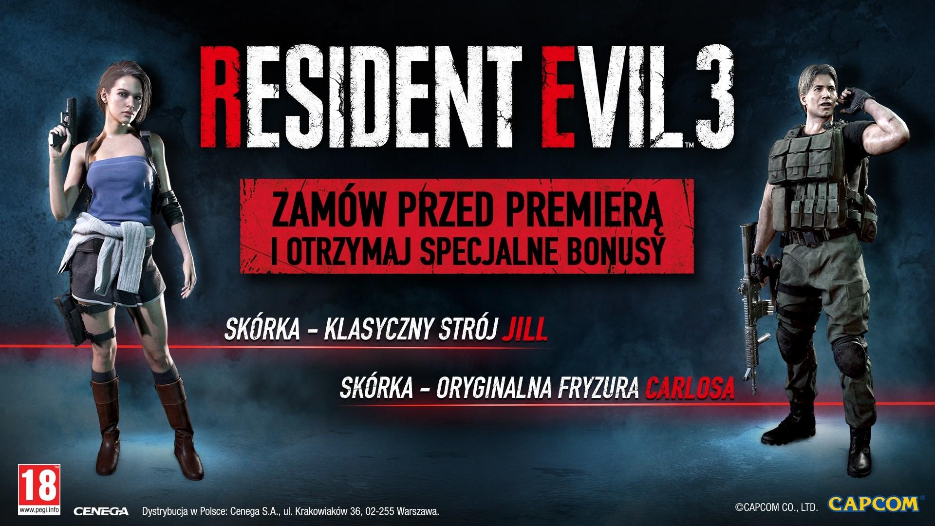 Gra Resident Evil 3 PS4