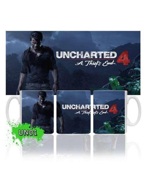 Kubek Uncharted 4 Kres Złodzieja