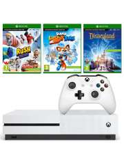 Xbox One S 1TB Kinect 3 Gry 2 Pady Białe Nowe-35083
