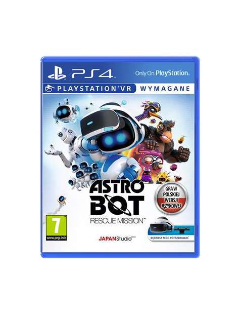Astro Bot Rescue Mission VR PL PS4-48783