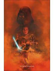 Gwiezdne Wojny Empire flat pro - plakat premium
