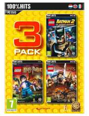 Lego Triple Pack: Batman 2, Harry 5-7, Władca PC-49695