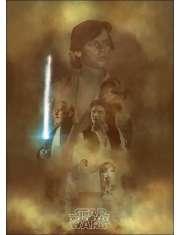 Gwiezdne Wojny, nowa nadzieja - plakat premium