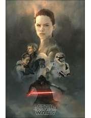 Gwiezdne Wojny, przebudzenie mocy - plakat premium