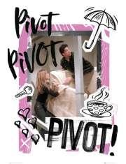 Przyjaciele Friends Pivot - plakat