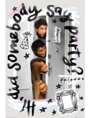 Przyjaciele Friends Party - plakat