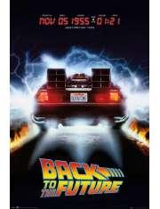 Powrót Do Przyszłości DeLorean - plakat