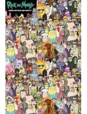 Rick and Morty Wheres Rick - plakat
