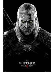 Wiedźmin Geralt Toxicity Poisoning - plakat