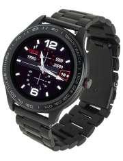 Smartwatch Garett Men 3S czarny, stalowy
