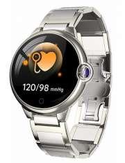 Smartwatch Garett Women Karen srebrny, stalowy