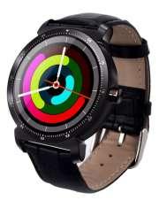 Smartwatch Garett GT20S czarny skórzany