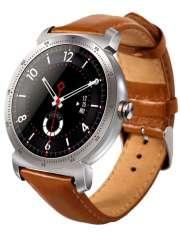 Smartwatch Garett GT20S srebrny skórzany