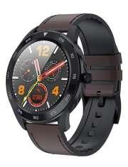 Smartwatch Garett GT22S ciemny brąz, skórzany