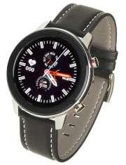 Smartwatch Garett Master RT czarny skórzany