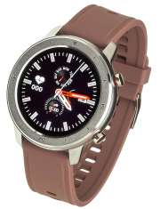 Smartwatch Garett Master RT brązowy