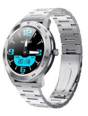 Smartwatch Garett GT22S RT srebrny, stalowy