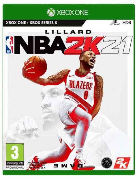 NBA 2K21 Xbox One-50102