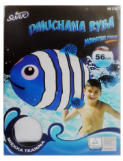 Dmuchana Ryba do wody Monster Fish Football Blue-50161