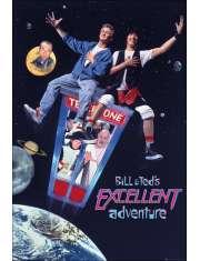 Wspaniała przygoda Billa i Teda - plakat