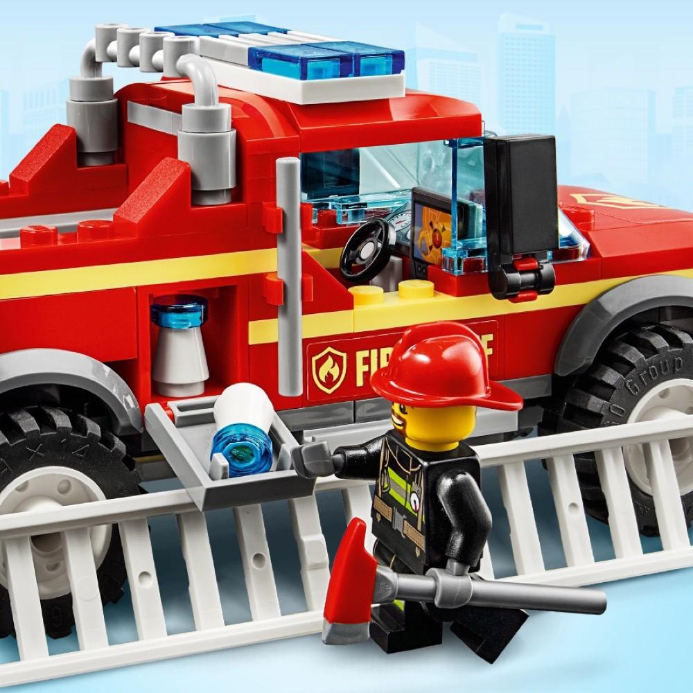 Lego 60231 City:Terenówka komendatnki Straży Pożarnej