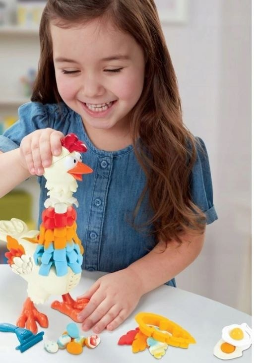 Play-Doh Ciastolina Farma Kurczak E6647