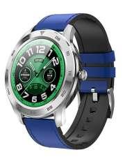 Smartwatch Garett GT22S niebieski, skórzany