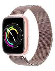 Smartwatch Garett Women Eva różowy, stalowy
