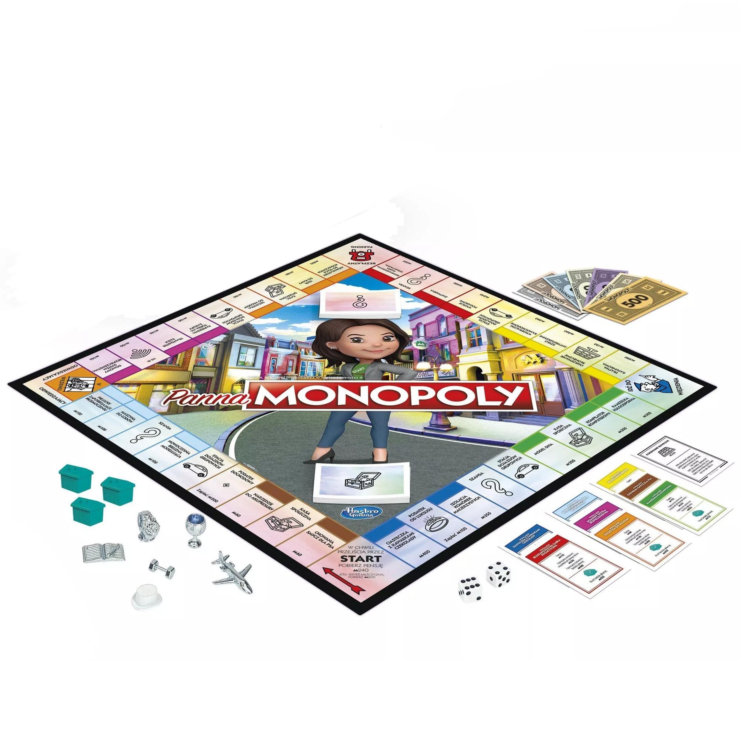 Gra planszowa Panna Monopoly