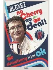 Stranger Things Alexei No Cherry No Deal - plakat