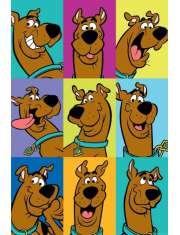 Scooby Doo Zabawne Miny Scoobyego - plakat