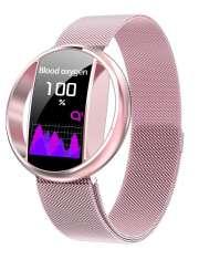 Smartwatch Garett Women Nicole różowy, stalowy