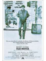 Taxi Driver - Robert De Niro - plakat