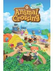 Animal Crossing New Horizons - plakat