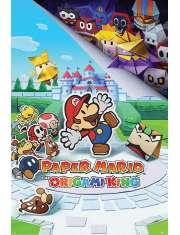 Nintendo Paper Mario The Origami King - plakat