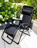 Czarny Fotel Wielopozycyjny 200230-B