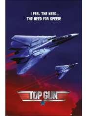 Top Gun Maverick Speed - plakat