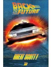 Powrót Do Przyszłości Great Scott - plakat