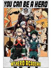 My Hero Academia You Can Be a Hero - plakat