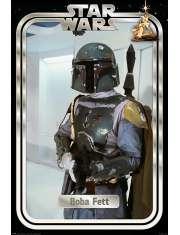 Gwiezdne Wojny Star Wars Boba Fett Retro - plakat