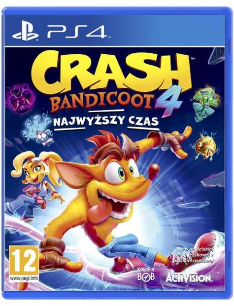 Crash Bandicoot 4: Najwyższy Czas PS4-49837